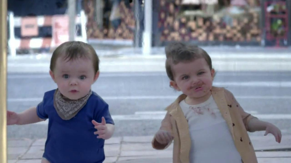 Evian TV Spot, 'Baby and Me' - Screenshot 5