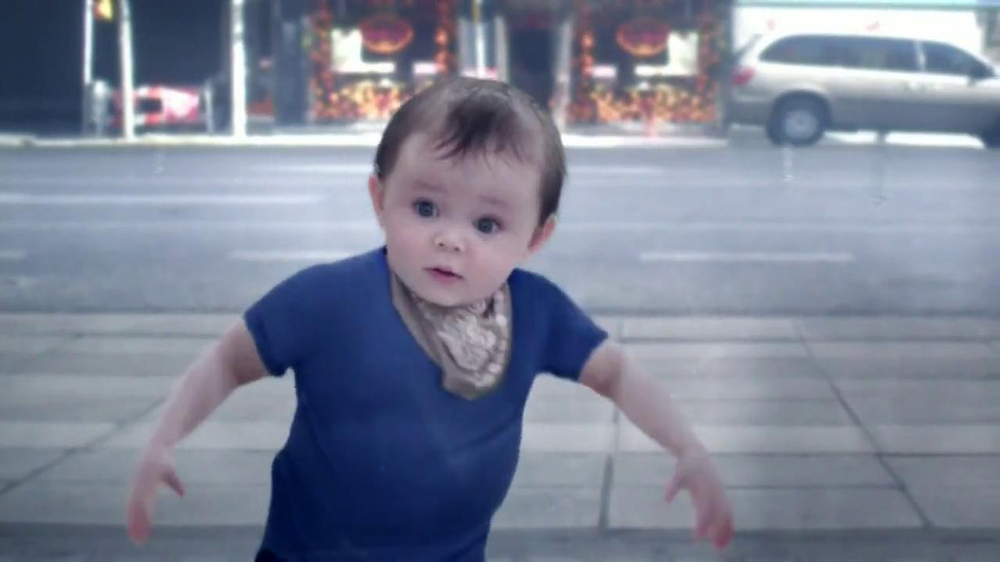 Evian TV Spot, 'Baby and Me' - Screenshot 8