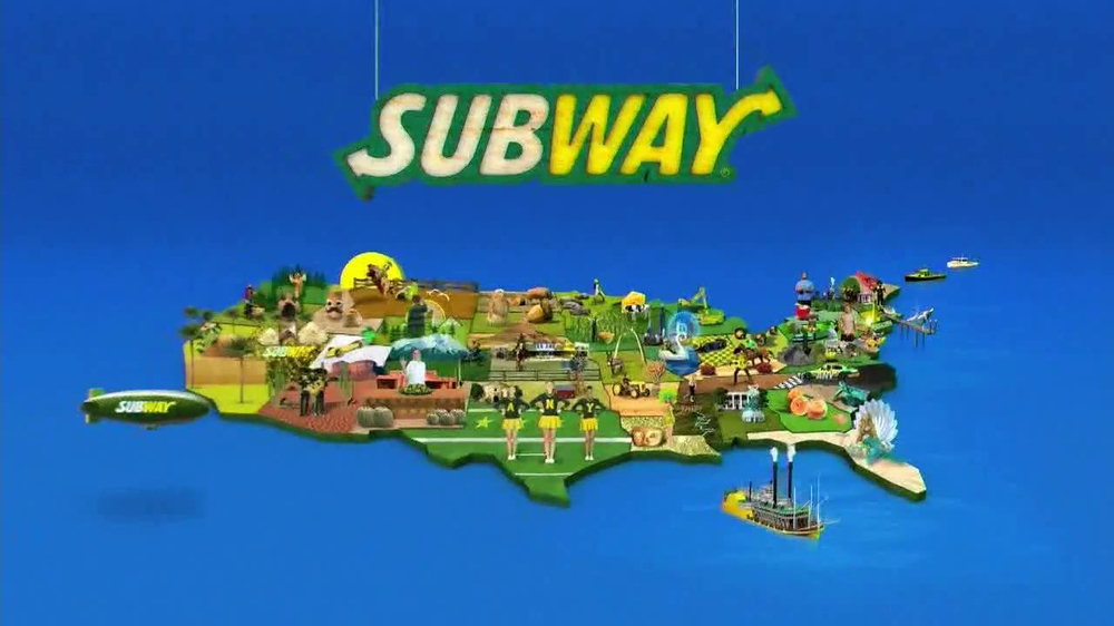 Subway SUBtember TV Spot, 'Celebrate' - Screenshot 7