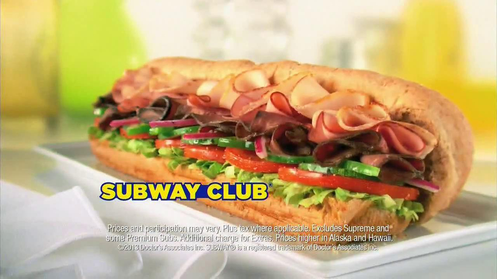 Subway SUBtember TV Spot, 'Celebrate' - Screenshot 9