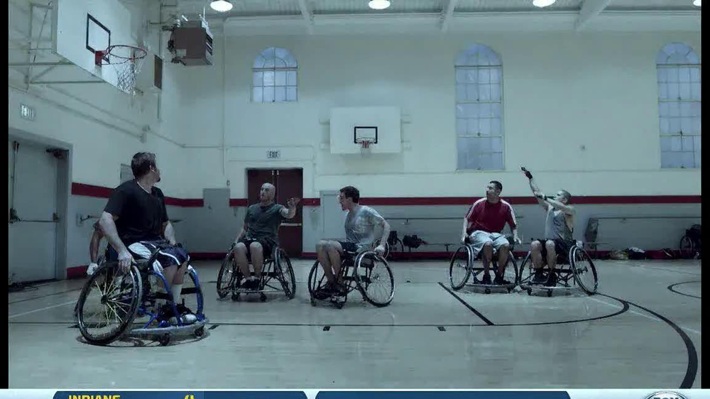 Guinness TV Spot, 'Wheelchair Basketball' - Screenshot 5