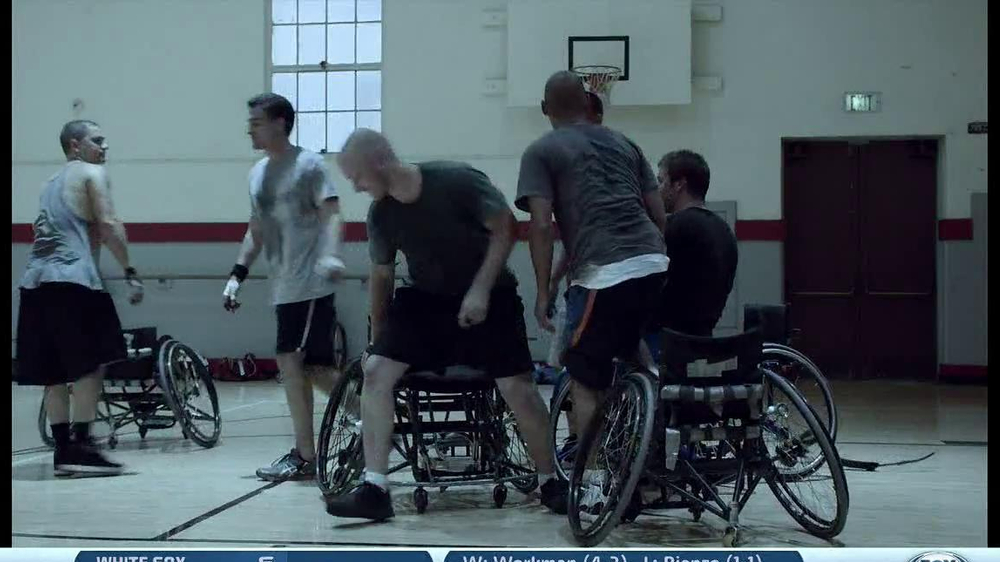 Guinness TV Spot, 'Wheelchair Basketball' - Screenshot 8