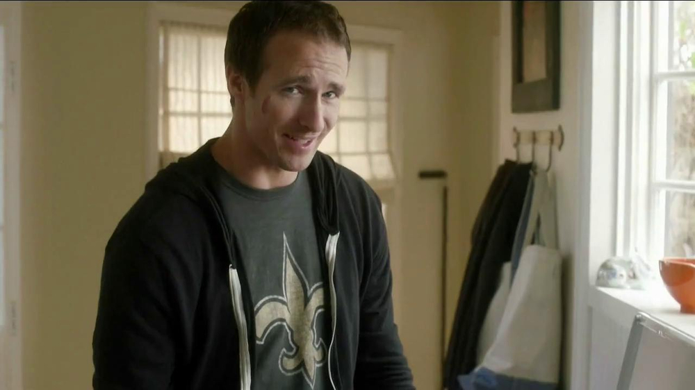 Tide TV Spot, 'NFL' Featuring Drew Brees - Screenshot 1