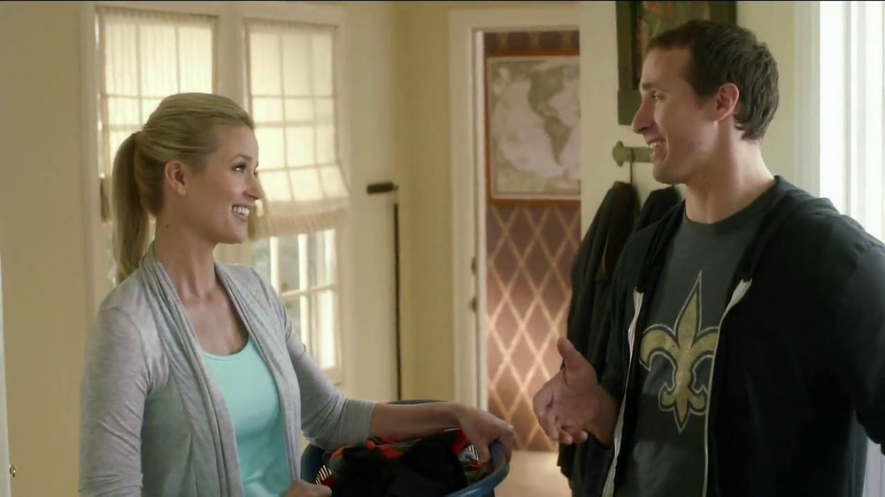 Tide TV Spot, 'NFL' Featuring Drew Brees - Screenshot 7