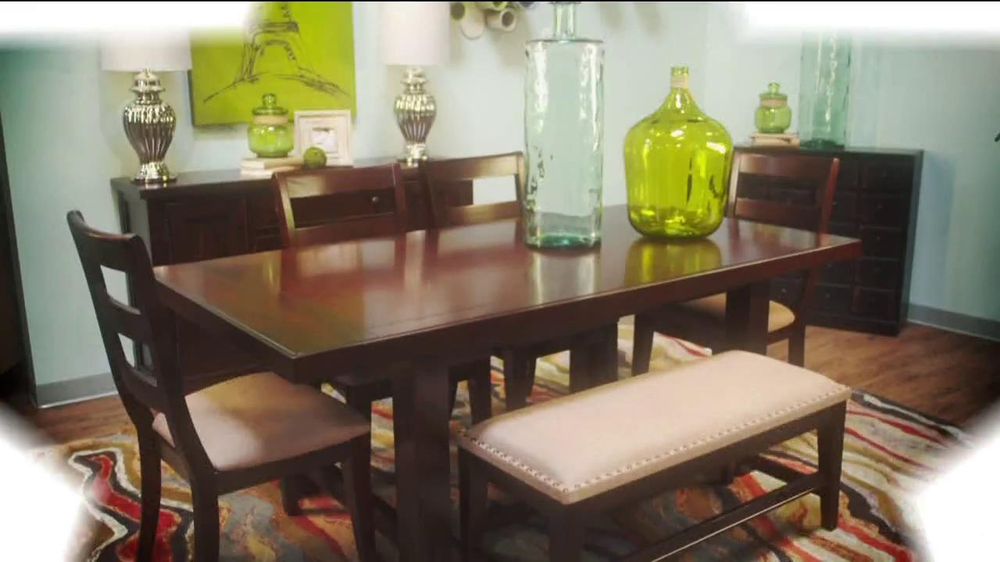Ashley furniture homestore tv commercial 39 labor day for Furniture xchange new jersey