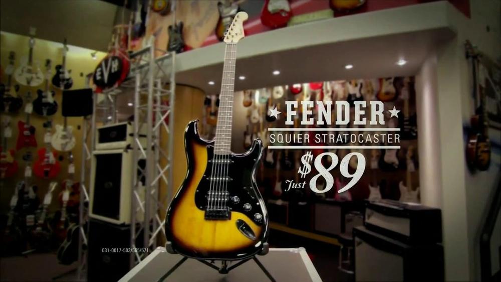 guitar center labor day sale tv commercial 39 fender 39. Black Bedroom Furniture Sets. Home Design Ideas