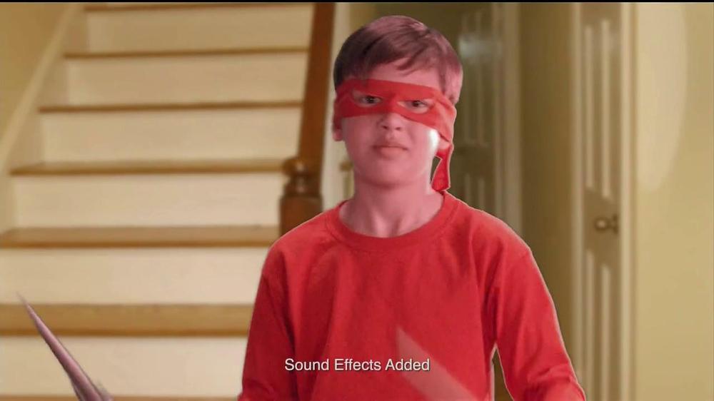 Teenage Mutant Ninja Turtles Super-Sized Battle Shell Turtles TV Spot - Screenshot 1