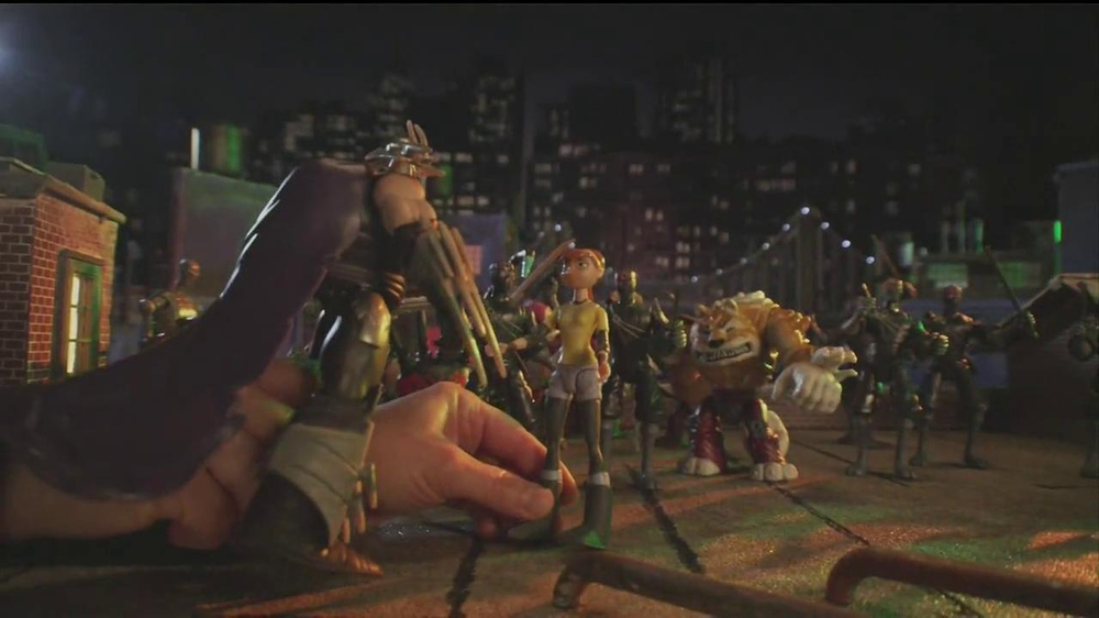 Teenage Mutant Ninja Turtles Super-Sized Battle Shell Turtles TV Spot - Screenshot 2