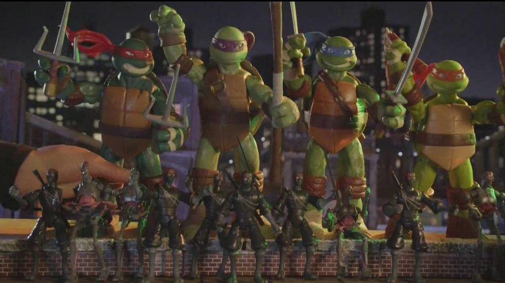 Teenage Mutant Ninja Turtles Super-Sized Battle Shell Turtles TV Spot - Screenshot 3
