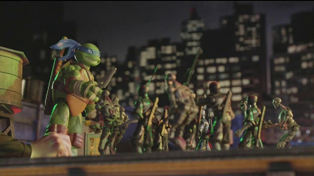 Teenage Mutant Ninja Turtles Super-Sized Battle Shell Turtles TV Spot - Screenshot 4