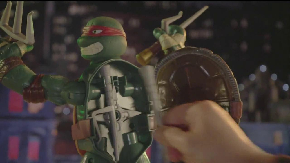 Teenage Mutant Ninja Turtles Super-Sized Battle Shell Turtles TV Spot - Screenshot 7