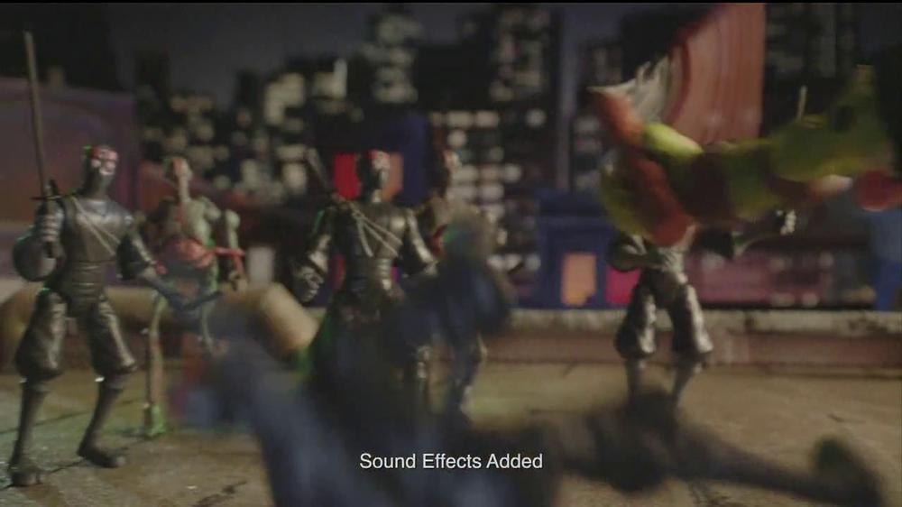 Teenage Mutant Ninja Turtles Super-Sized Battle Shell Turtles TV Spot - Screenshot 8