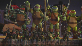 Teenage Mutant Ninja Turtles Super-Sized Battle Shell Turtles TV Spot - Thumbnail 3