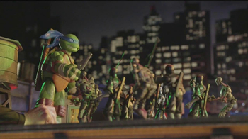 Teenage Mutant Ninja Turtles Super-Sized Battle Shell Turtles TV Spot - Thumbnail 4