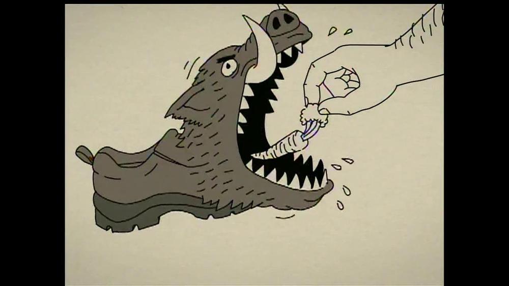 Duluth Trading Wild Boar Mocs TV Spot, 'Grippy Like a Big Bad Boar'
