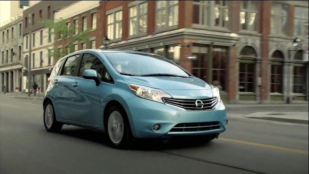 Nissan note commercial music