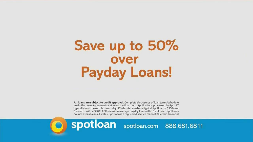Spot Loan TV Spot - Screenshot 8