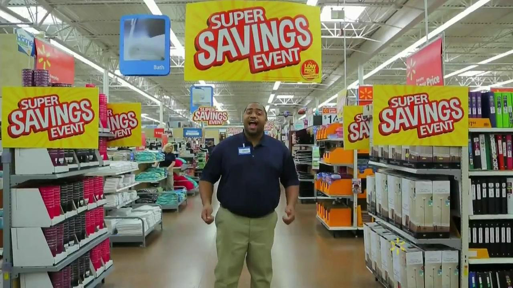 Walmart Super Savings Event TV Spot - Screenshot 1