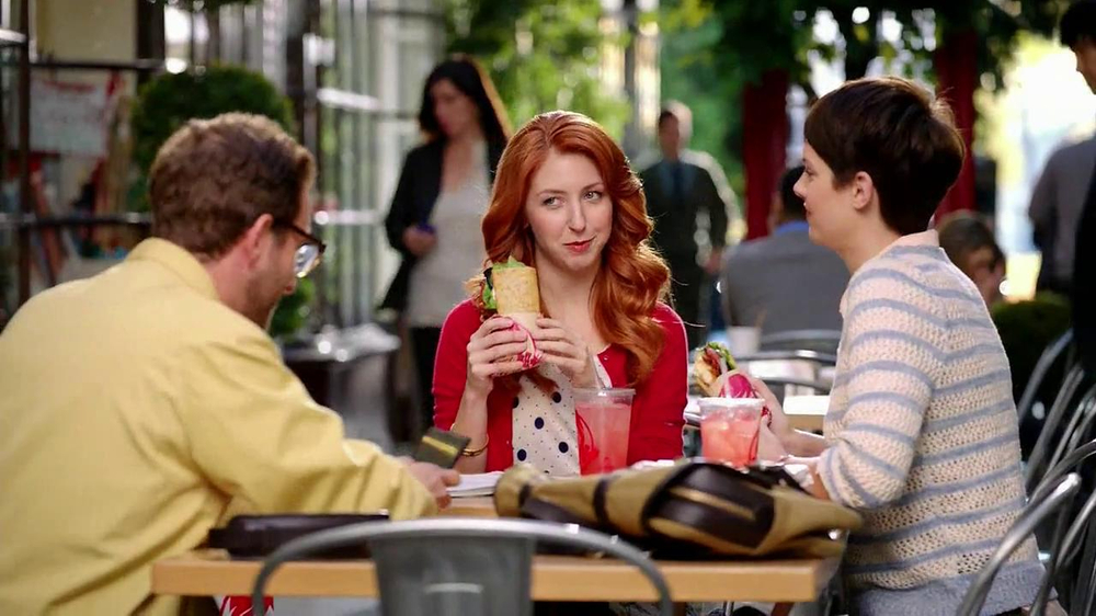 Wendy's Flatbread Grilled Chicken TV Spot, 'Have to Tweet it' - Screenshot 2