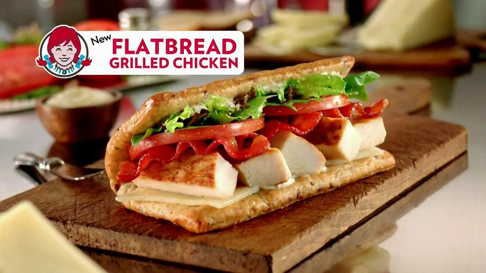 Wendy's Flatbread Grilled Chicken TV Spot, 'Have to Tweet it' - Screenshot 8