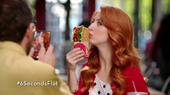 Wendy's Flatbread Grilled Chicken TV Spot, 'Have to Tweet it' - Thumbnail 5