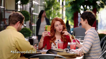 Wendy's Flatbread Grilled Chicken TV Spot, 'Have to Tweet it'