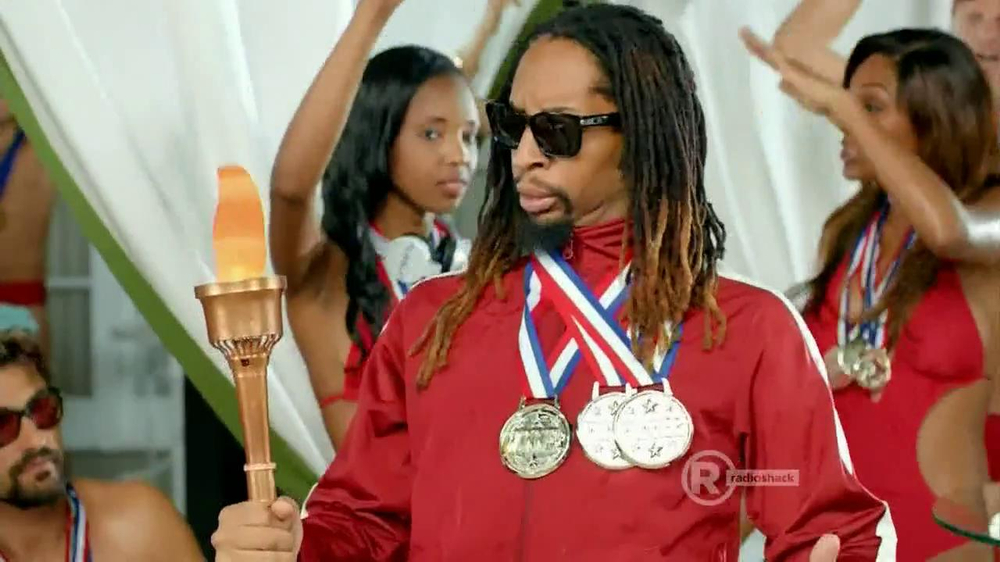 Radio Shack TV Spot, 'Sol Replic Deck' Feat. Lil Jon and Michael Phelps - Screenshot 6