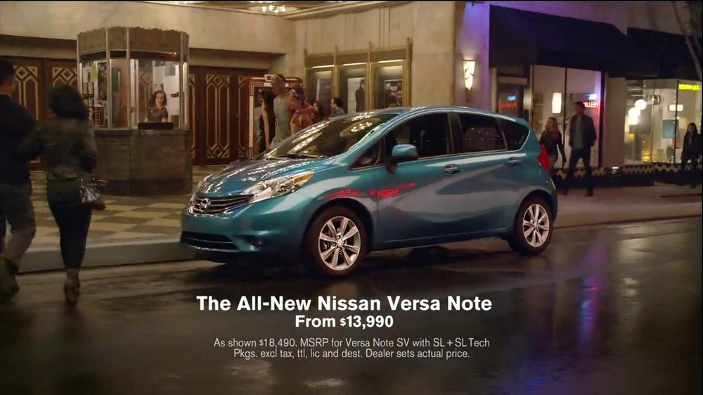 Nissan Versa Note TV Spot, 'What You Love' - Screenshot 8