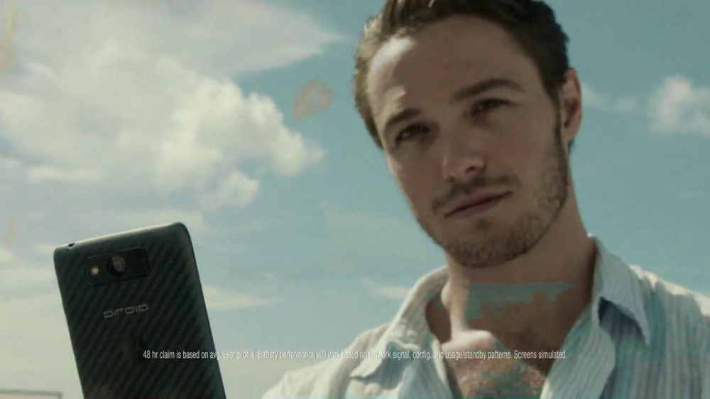 Verizon Droid Max TV Spot, 'Droid Max: Island' - Screenshot 8