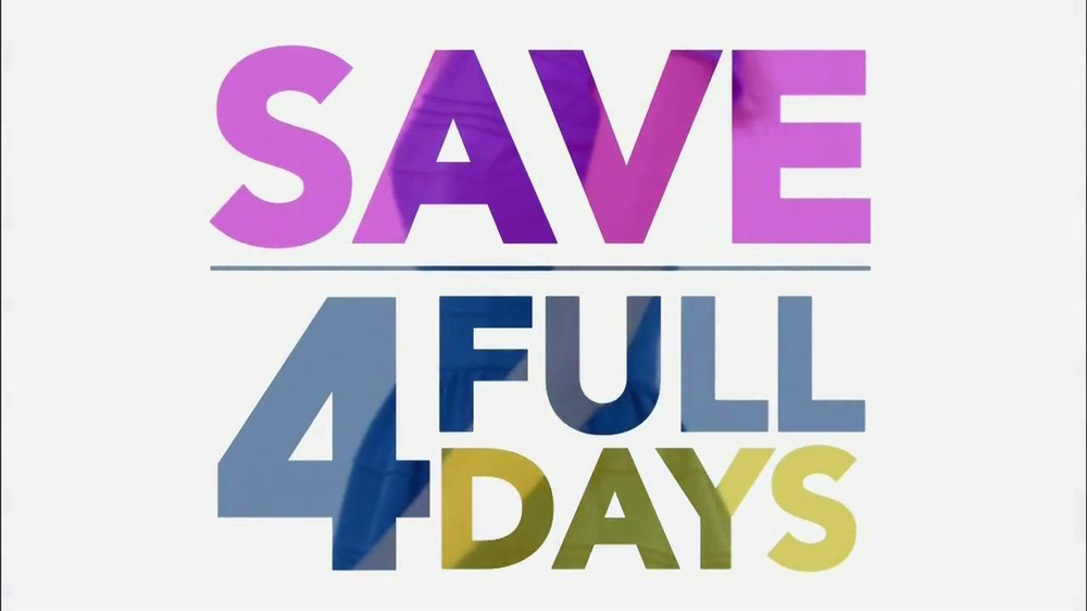 Watch video· About Kohl's Great Big Weekend Sale TV Commercial, 'Great Big Weekend Sale' Mark your calendar for Kohl's Great Big Weekend Sale and an entire weekend of great big savings. Get 50% off specials throughout the store.
