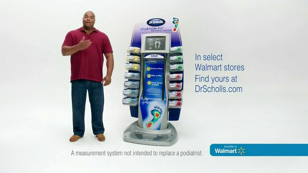 Dr. Scholl's Walmart Foot Mapping Center TV Spot - Screenshot 4