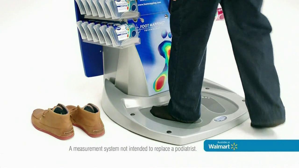 Dr. Scholl's Walmart Foot Mapping Center TV Spot - Screenshot 5
