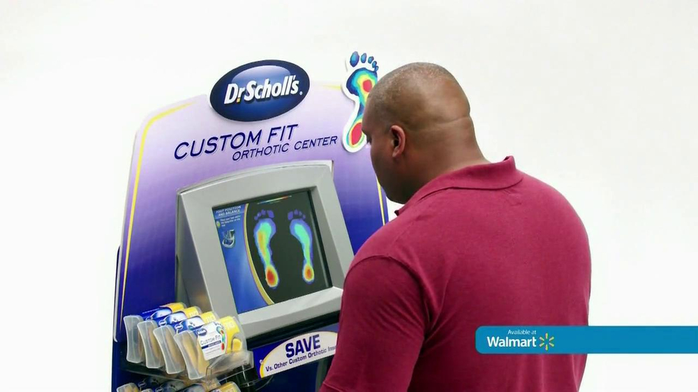 Dr. Scholl's Walmart Foot Mapping Center TV Spot - Screenshot 6