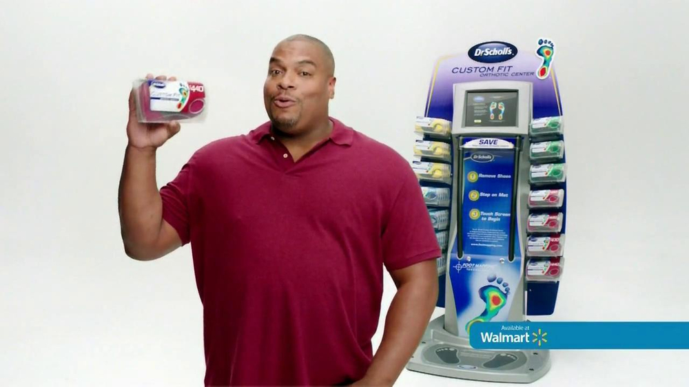 Dr. Scholl's Walmart Foot Mapping Center TV Spot - Screenshot 8