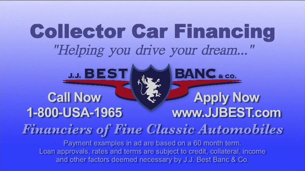 J.J. Best Bank & Co. TV Spot, 'Collector Car Financing' - Screenshot 6