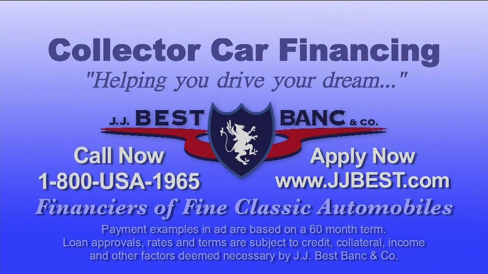 J.J. Best Bank & Co. TV Spot, 'Collector Car Financing' - Screenshot 7