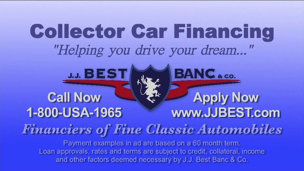 J.J. Best Bank & Co. TV Spot, 'Collector Car Financing' - Screenshot 8