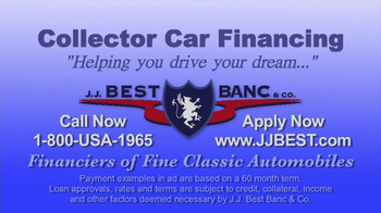 J.J. Best Bank & Co. TV Spot, 'Collector Car Financing' - Thumbnail 9