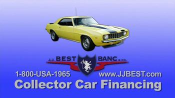 J.J. Best Bank & Co. TV Spot, 'Collector Car Financing' - Thumbnail 1