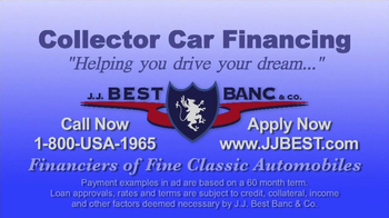J.J. Best Bank & Co. TV Spot, 'Collector Car Financing' - Thumbnail 6