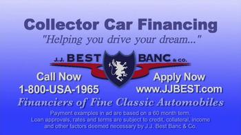 J.J. Best Bank & Co. TV Spot, 'Collector Car Financing' - Thumbnail 7