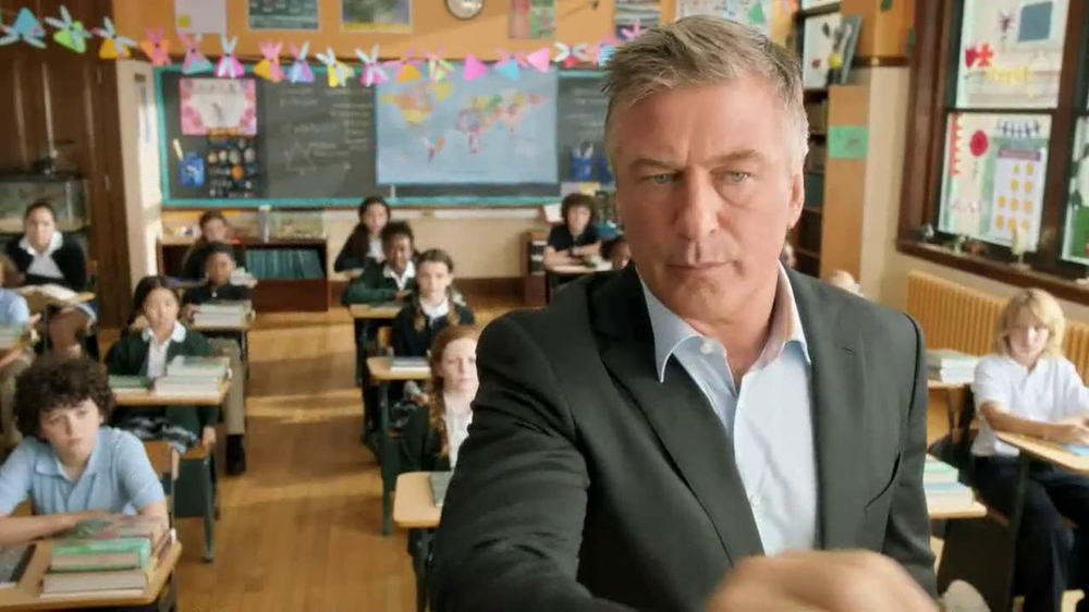 Capital One Venture TV Spot, 'Teacher' Featuring Alec Baldwin - Screenshot 1