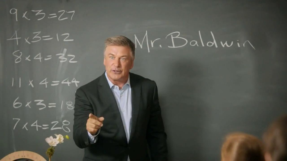 ... One's new campaign. Alec Baldwin wouldn't miss a family reunion, ever