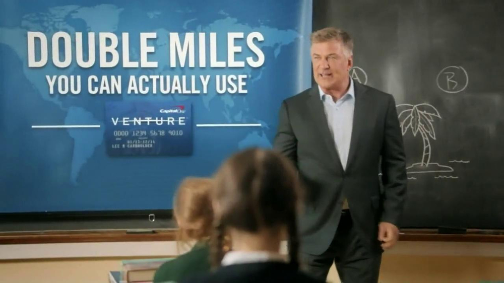 Capital One Venture TV Spot, 'Teacher' Featuring Alec Baldwin - Screenshot 7
