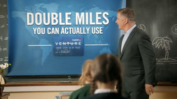 Capital One Venture TV Spot, 'Teacher' Featuring Alec Baldwin - Thumbnail 8