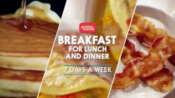 Golden Corral: Breakfast for Lunch and Dinner