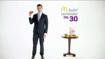 McDonald's Bacon & Cheese Sirloin Third Pound Burger TV Spot, 'Rhyme Time' thumbnail