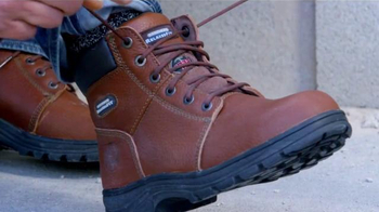 SKECHERS Work Footwear TV Spot, 'Botas resistentes' [Spanish] thumbnail