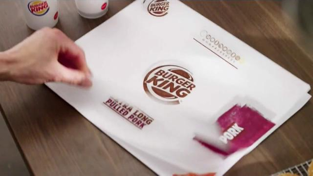 Burger King Extra Long Pulled Pork Sandwich TV Spot, 'Now, We're Talking'