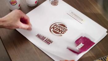 Burger King Extra Long Pulled Pork Sandwich TV Spot, 'Now, We're Talking' thumbnail